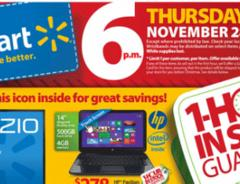 The Walmart Black Friday 2013 Ad has been officially released. This is